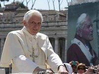 Папа Римский пообщался с экипажем МКС. benedict