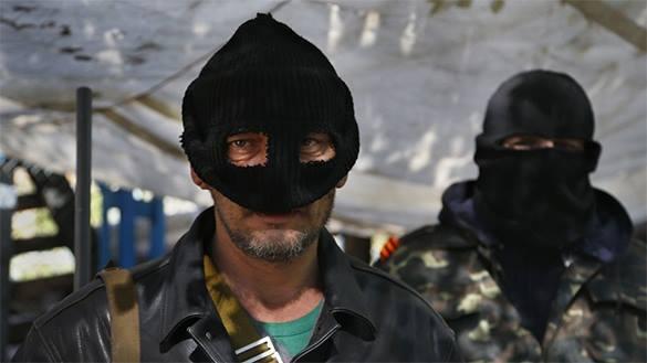 Батальон ОУН категорически отказался входить в состав ВСУ. каратели, Украина