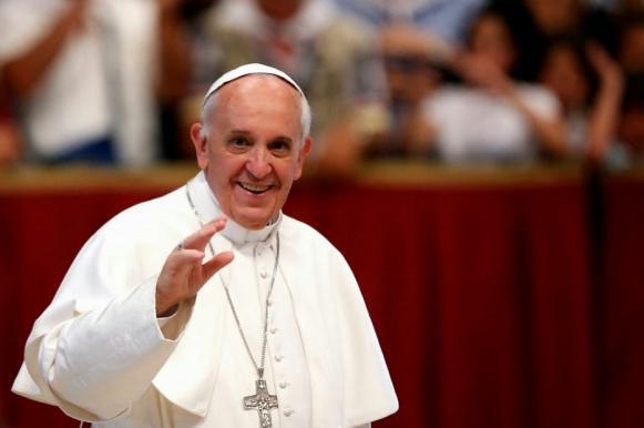 """Папа Римский: """"Я просыпаюсь и засыпаю по-украински!"""". Папа Римский: Я просыпаюсь и засыпаю по-украински!"""
