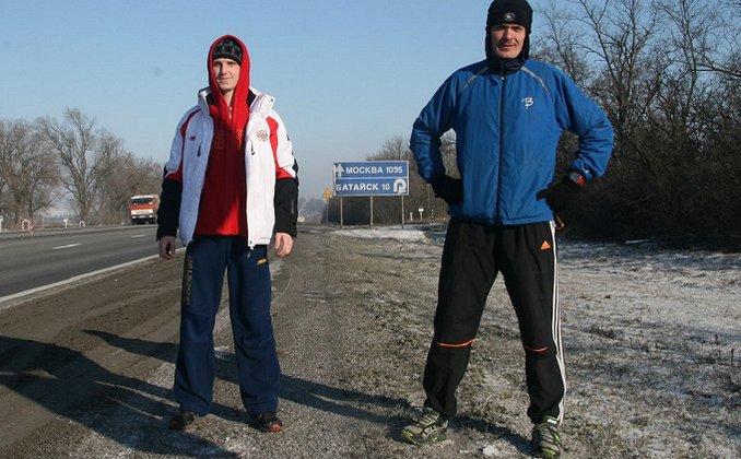 Ультразабег Москва - Сочи: Дмитрий Ерохин добрался до Кущевской. 288350.jpeg