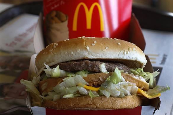 McDonald's в России может быть подвергнут санитарным санкциям. McDonalds в России может быть подвергнут санитарным санкциям