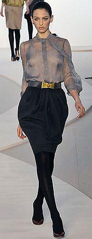 Модные юбки сезона осень-зима 2008-2009