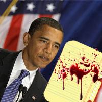 Хуссейн послал Обаме свою кровь, чтобы попасть на инаугурацию
