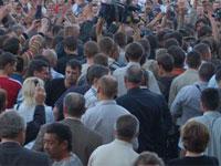 Белорусская оппозиция протестует против строительства новой АЭС