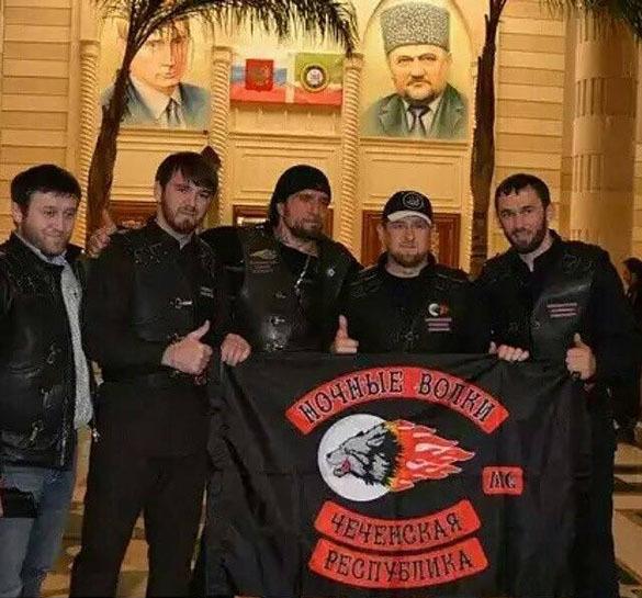 Рамзан Кадыров принят в байк-клуб