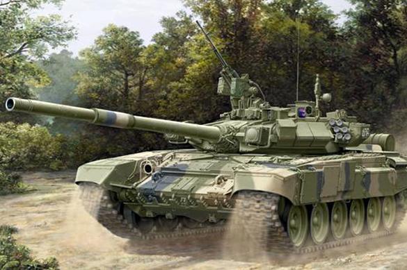 Россия отправила в Ирак танки Т‐90. Россия отправила