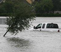 Север Греции поразило сильное наводнение