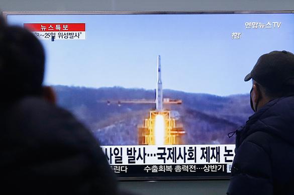 КНДР совершила запуск баллистической ракеты в сторону Японского