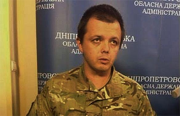 Комбат Семенченко скучает по Януковичу. семенченко