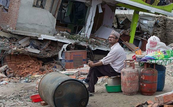 В Непале зафиксированы новые подземные толчки силой 6,7 и 5,0 баллов. Непал, пострадавший от землятрясения