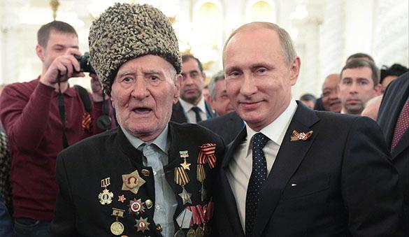 Владимир Путин: Мы осознаем День Победы как главный праздник в истории нашей страны. День Победы