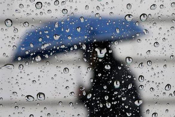 На Москву надвигаются дожди и грозы. Дожди