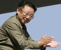 Ким Чен Ир послушал хоровое пение