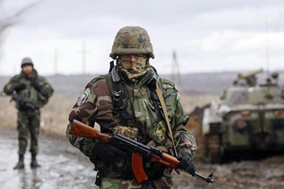 Под Донецком взят в плен украинский диверсант. Под Донецком взят в плен