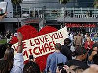 Началась церемония прощания с Майклом Джексоном