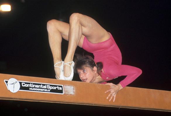 Не гимнастическая петля Корбут