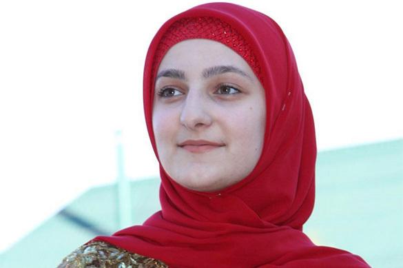 Дочь Кадырова открыла в Грозном бутик нижнего белья. Дочь Кадырова открыла в Грозном бутик нижнего белья