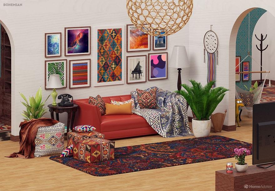 Квартира Симпсонов глазами энтузиастов: шесть вариантов ее оформления. 404360.jpeg