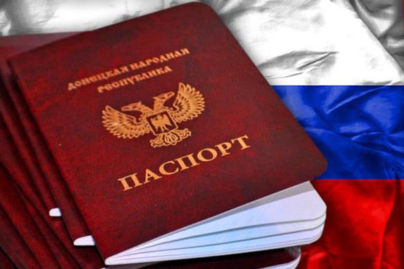 РФ  назвала условия для отмены принятия  «паспортов ЛДНР»