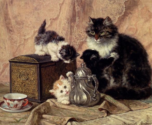 Кошки в живописи разных эпох. 394361.jpeg