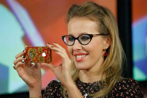 Твое место вшоу-бизнесе: Собчак назвала Навального лицемером