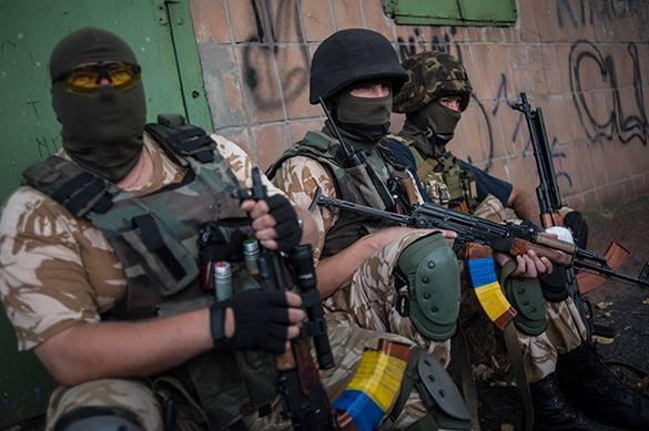 """Украина создает батальон """"Майдан"""" для истребления Новороссии."""