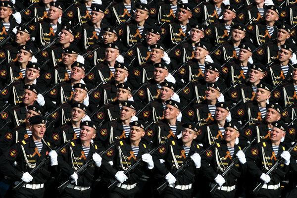 Генеральная репетиция Парада Победы проходит в Москве