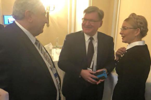 """""""Они врут вам все время"""": Тимошенко назвала свою встречу с послом РФ фейком. Они врут вам все время: Тимошенко назвала свою встречу с посло"""