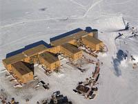Южный полюс установил температурный рекорд. station