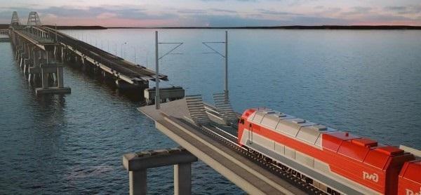 Строители уложили первый километр железной дороги по Крымскому мосту. 397365.jpeg