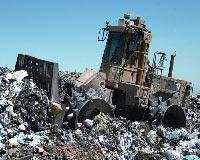 Украинцы не дают вывезти мусор из Тернополя