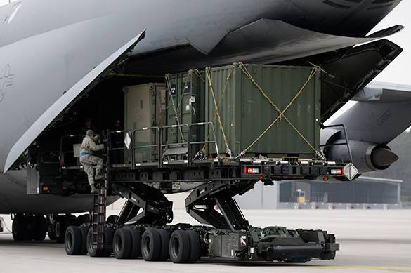 Минобороны потребовало от США разъяснений по ядерным ракетам в Европе. загрузка Patriot