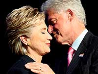 Хиллари Клинтон разозлило упоминание о ее муже