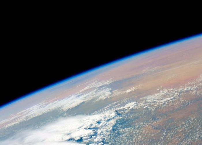Земля из космоса, снимок