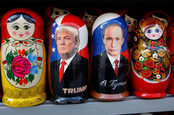 Politico: Трамп связан с Россией даже русским соусом в салате