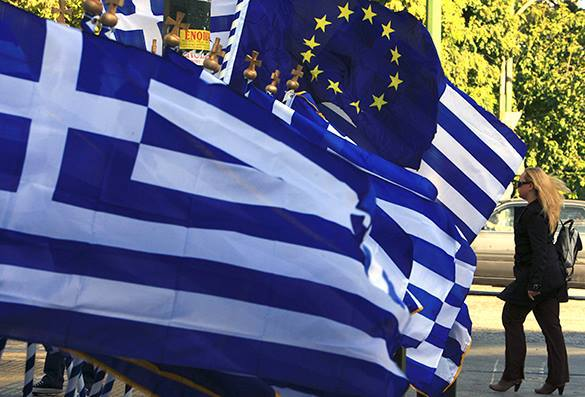 У Греции не нашлось денег на выплату очередного транша МВФ. Греция и Еврозона