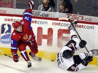 Российская молодежка разгромила сборную Латвии. hockey