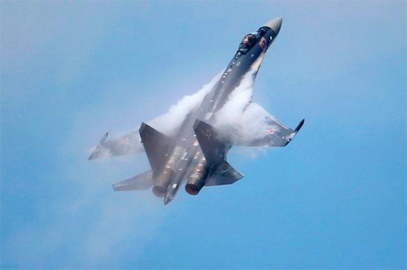 Российские Су-35 сравнили с американским F-35