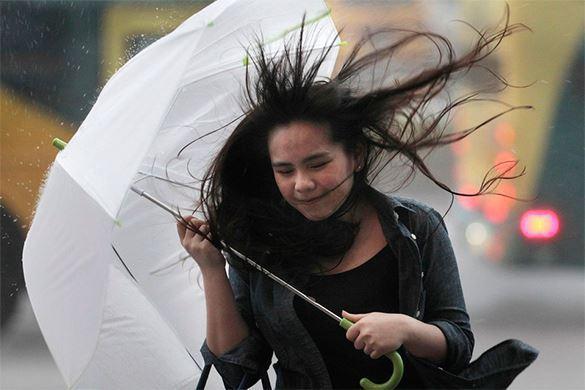 Шквалистый ветер ожидает Москву