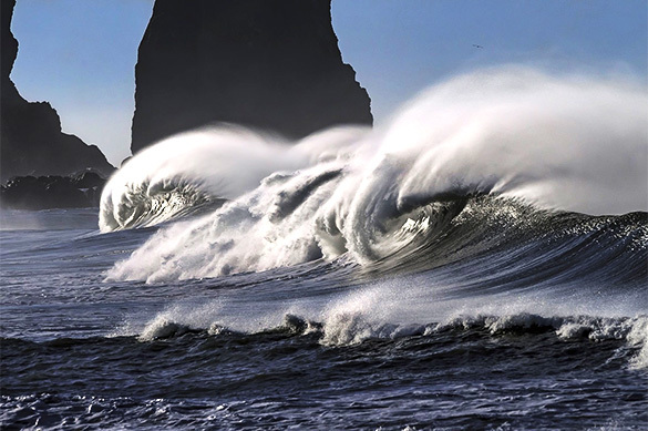 На Камчатке объявлена угроза цунами
