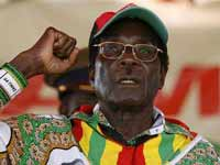 Президент Зимбабве устроил