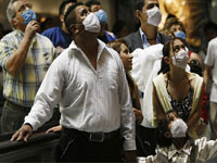 За неделю новым гриппом заболели 9 тысяч британцев