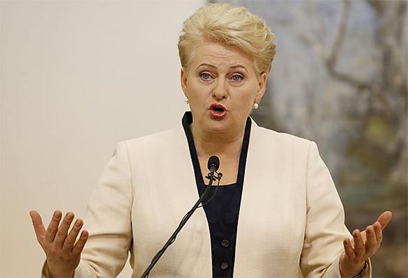 Грибаускайте: Литва обойдется и без российского газа. Даля Грибаускайте