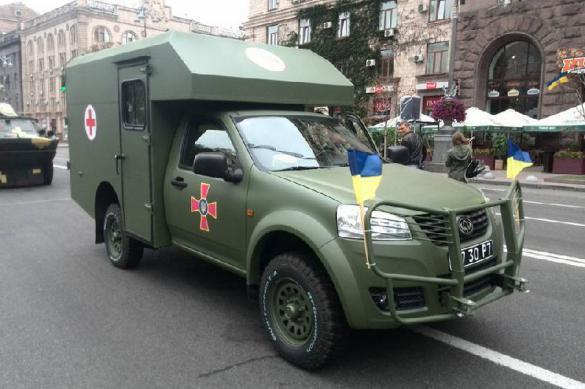 Друг Порошенко сбагрил украинской армии негодные санитарные авто. Друг Порошенко сбагрил украинской армии негодные санитарные авто