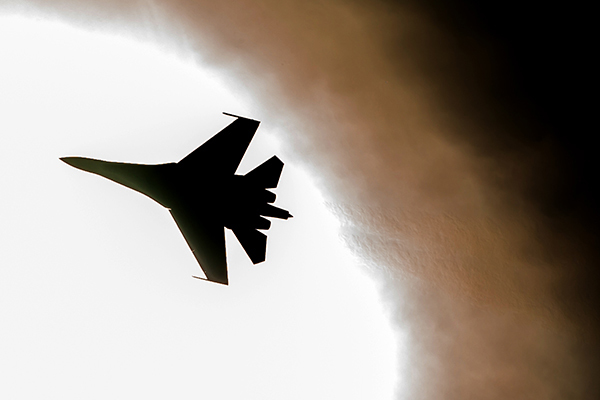 Генеральное наступление на грабли. Многоцелевой истребитель Су-27