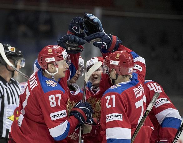 Сборная России уверенно вышла в финал Чемпионата мира по хоккею