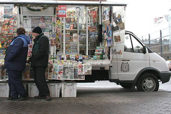 """""""Известия"""" выяснили, как губернаторы покупают лояльность местной прессы. газеты, киоск, пресса"""