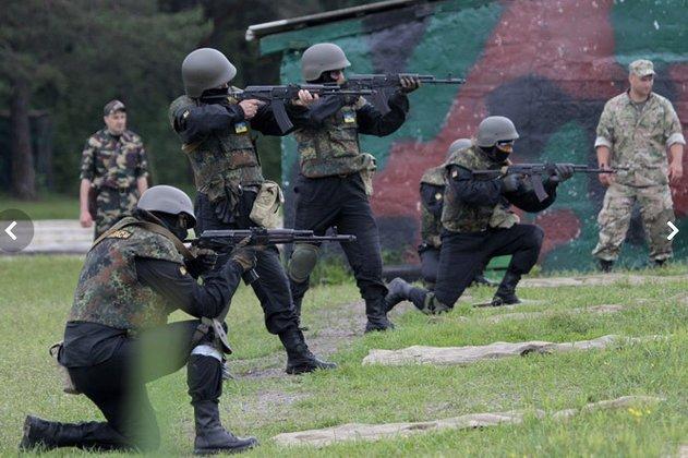 Псаки: Порошенко нужны партнеры в вопросе перемирия, и это ополченцы. Каратели учения украинская армия нацгвардия