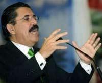 Мануэль Селайя ждет своих сторонников на границе с Гондурасом