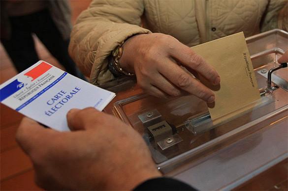Стали известны первые результаты выборов во Франции